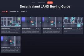购买Decentraland 土地(LAND)指南( 一 )