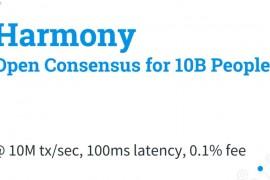 Harmony高通量区块链3.0平台|DemoShow Online(第11期)
